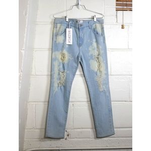 Wildfox Marissa Glory distressed destroyed jeans
